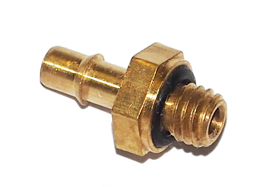 sc 1 st  Universal Power Conversion & Miniature Male Hose Barb Brass Fitting | B2 1/2-O