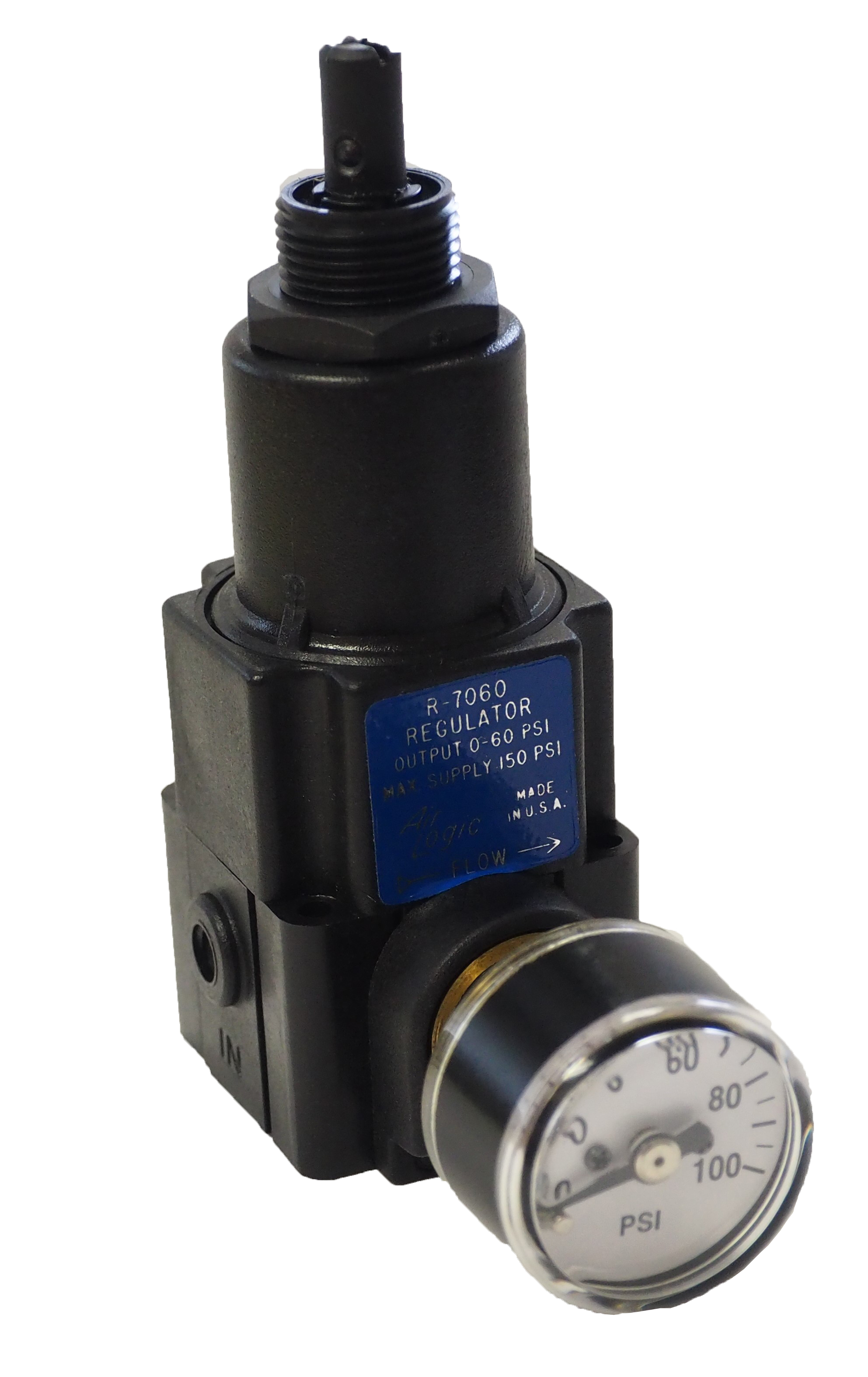 Precision Pressure Regulator R 7060 0i0b W S