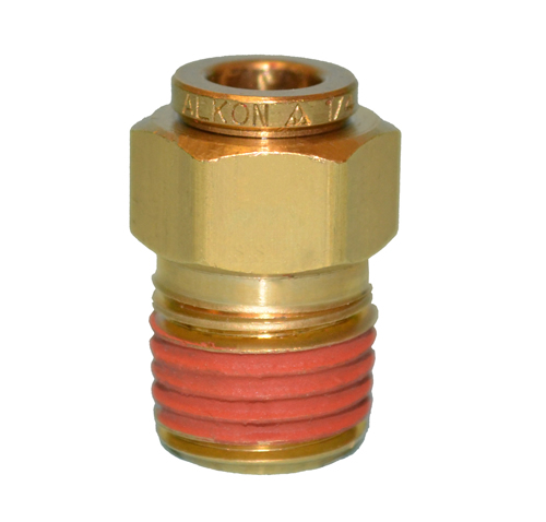 Male Connector Dot Push To Connect Brass Maq68 Dot 6x2