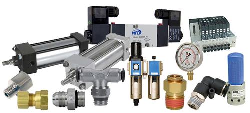 pneumatic components regulators pneumatic valves