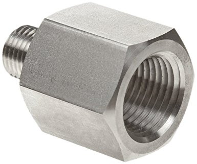 BSPP 1//2-3//4 ST.ST BSPT x Female Thread BSP MALE FEMALE REDUCER AIGNEP Male Thread Stainless Steel Adaptors