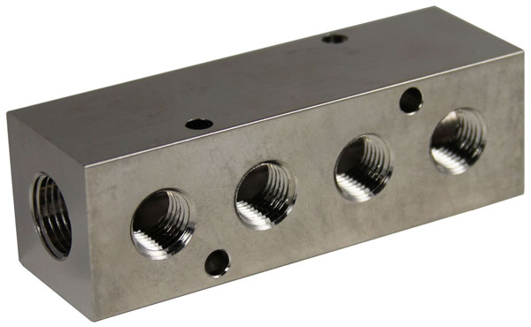 Nickel Plated Manifold