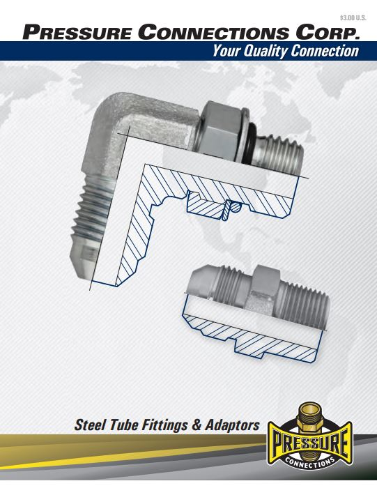Steel Fittings Catalog Cover Image