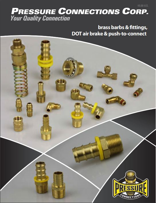 Brass Barbs and Fittings Catalog Cover Image