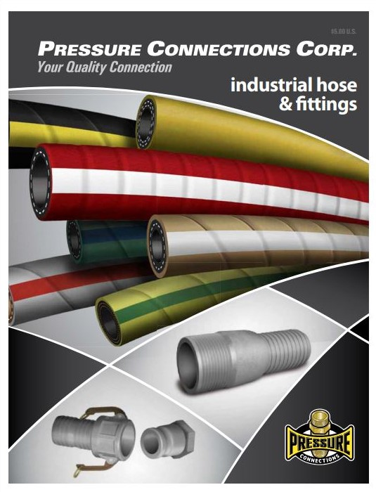 Industrial Hose and Fittings Catalog Cover Image