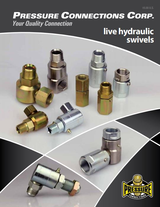 Live Hydraulic Swivel Joint Catalog Cover Image