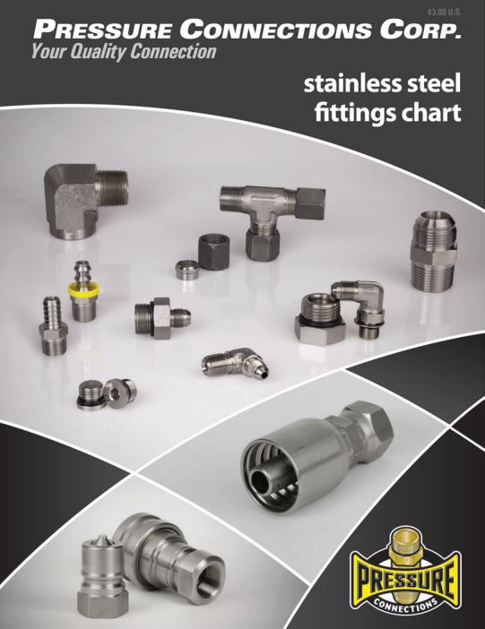 Stainless Fittings and Adapters Chart Cover Image